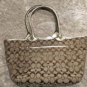 Coach Bags - Coach Bleeker Floral Signature Tote